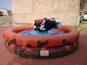 Alquiler toro mecánico